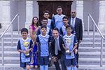 Swamibapa Football Club receive kit sponsorship from TrustFord Edgware