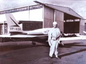 Jeevanpran Swamibapa at Eastleigh Airport