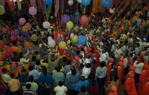 Finale during the Murti Pratishtha Celebrations