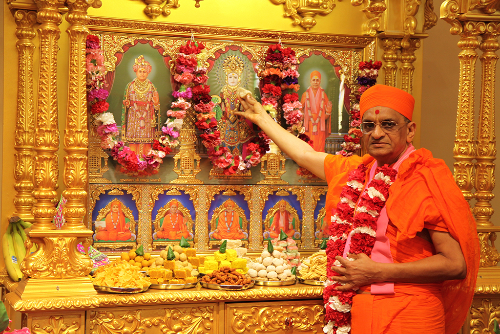 Grand opening of Shree Swaminarayan Mandir, Kentucky, USA