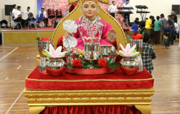 Shree Swaminarayan Mandir Bolton celebrated Sharad Poonam