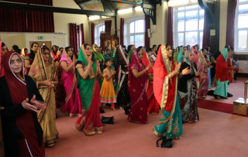 Swaminarayan Jayanti celebrations at Shree Swaminarayan Mandir Bolton