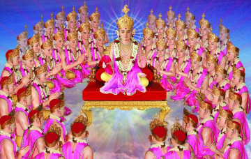 Lord Shree Swaminarayan - The Subservient Devotion of Muktanand Swami
