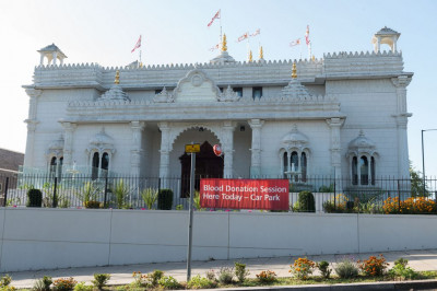 Shree Swaminarayan Mandir Kingsbury is the venue for the blood donation session