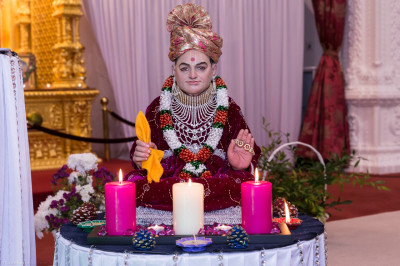 Divine darshan of Shree Abji Bapashree