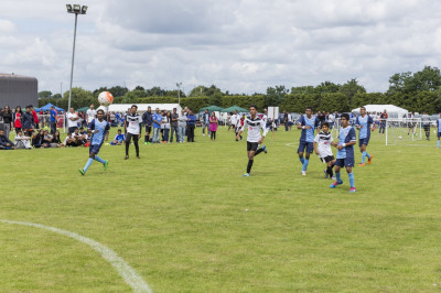 Swamibapa FC compete in the tournament