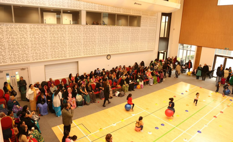 Shree Swaminarayan Mandir Kingsbury hosts Open Day on Christmas Day
