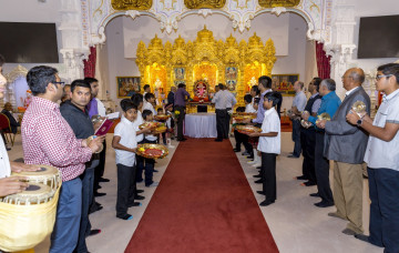 Shree Muktajeevan Swamibapa Pragatya Jayanti celebrations - London
