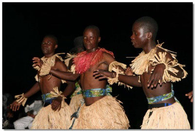 The natives perform traditional dances