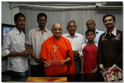 Devotees with president's export award