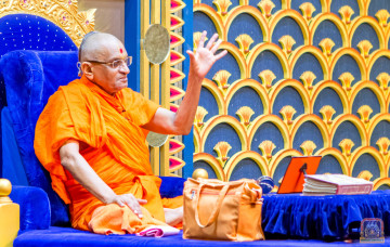 Acharya Swamishree Maharaj Ashirwad - Nairobi 18th Dec 2017