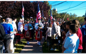 9/11 Memorial in Secaucus Township