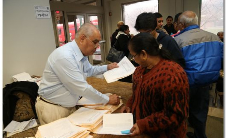Health Camp at Shree Swaminarayan Temple New Jersey 2012