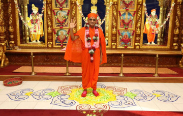 Acharya Swamishree North America Vicharan - 2015