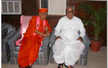 Special Meeting between Acharya Swamishree and Indian Vice President