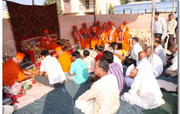 Ground Breaking Ceremony - Shree Swaminarayan Temple Sanand
