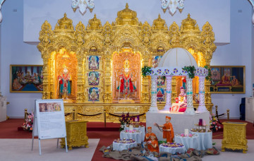 Kali Chaudas celebrations at Shree Swaminarayan Mandir Kingsbury
