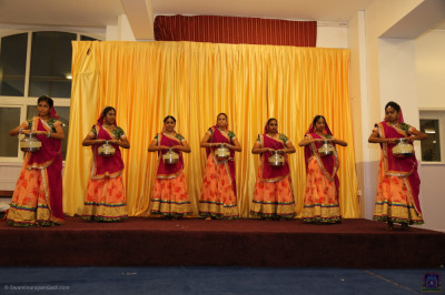 Disciples Performing a dance