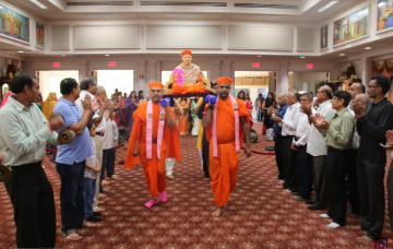 Gurupoornima Celebrations at Shree Swaminarayan Temple, New Jersey