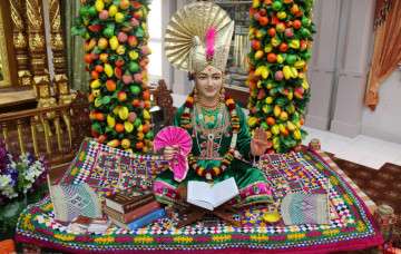 Shakotsav & Shikshapatri Jayanti Celebrations at Swaminarayan Temple New Jersey