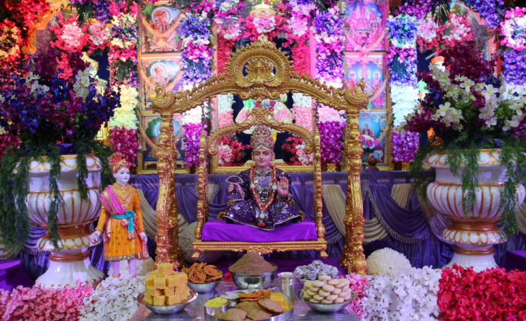 Shree Swaminarayan Jayanti Celebrations at Shree Swaminarayan Temple New Jersey
