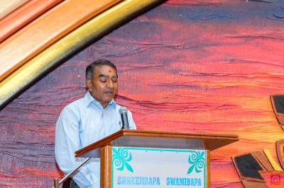 A devotee hosts the Education Awards
