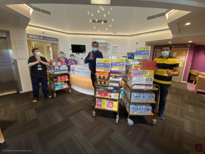 Disciples donate, collect and transport essential supplies to NHS front line staff in hospitals around Bolton
