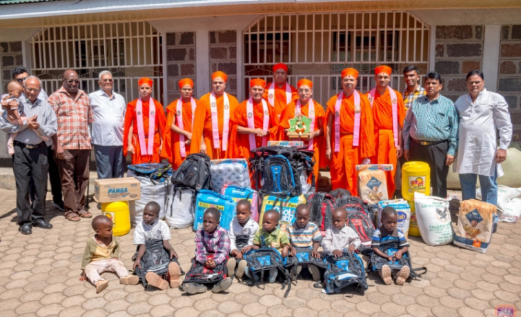 Charity work in Nakuru County by Swaminarayan Gadi Temple  - Nairobi 2020