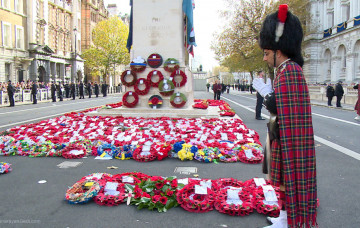 Shree Muktajeevan Swamibapa Pipe Band Thanks the Armed Forces at the Whitehall Cenotaph