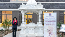NHS's Chief People Officer commends the UK's first Hindu temple vaccination centre