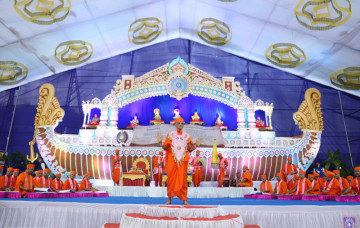 Day 1 - Shree Vachanamrut Dwishatabdi Mahotsav and Shree Abji Bapashree Shatamrut Mahotsav