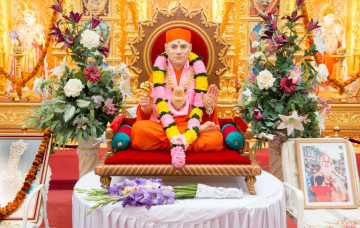Shree Muktajeevan Swamibapa Antardhan Leela (London)