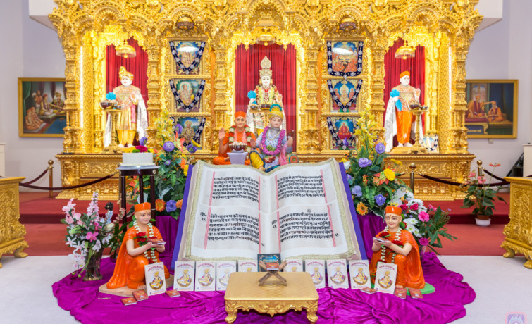 194th Shikshapatri Jayanti Celebrations at Shree Swaminarayan Mandir Kingsbury